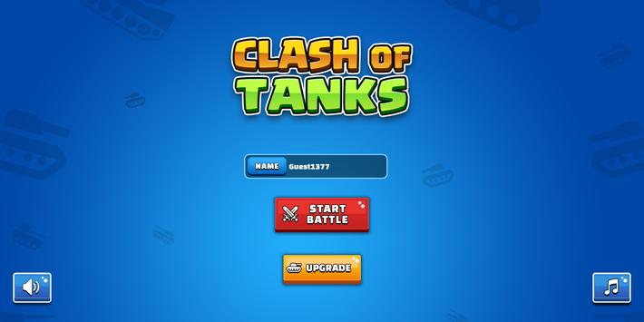 Clash Of Tanks poster