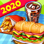 Hell's Cooking: crazy burger, kitchen fever tycoon icon