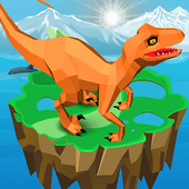 Idle Jurassic Zoo: Dino Park Tycoon Inc icon