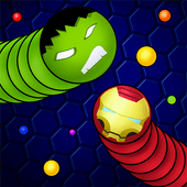 Snaky .io - Fun Multiplayer Slither Battle icon