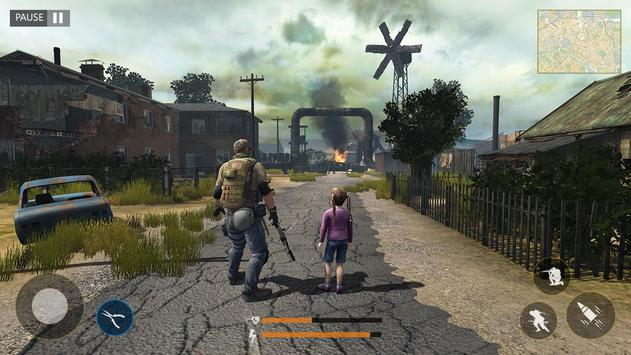 Last of Zombie: Real Survival Shooter 3D screenshot 1