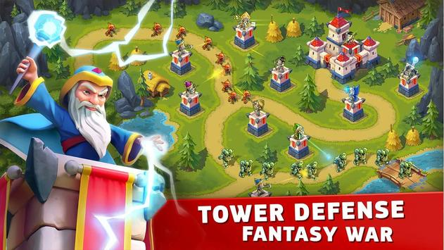 Toy Defense Fantasy — Tower Defense Game poster