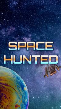 SpaceHunted Multiplayer Online Strategy Game poster