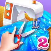 ✂️🧵Little Fashion Tailor 2 - Fun Sewing Game icon