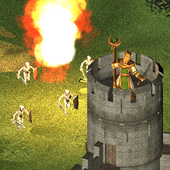 One on one: Siege of castles - Offline strategy icon