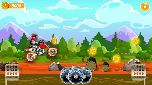 Trail Bike Motocross Racing - Bike Stunt Games screenshot 1