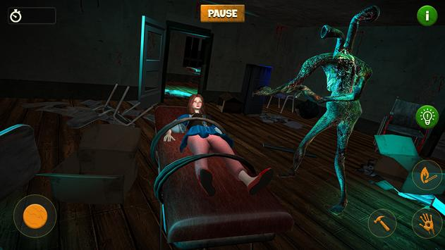 Pipe Head Game: Horror Haunted Hospital screenshot 1