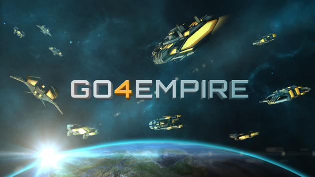 Go4Empire: Real-time Strategy at Galactic Level poster