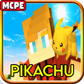 Mod Pikachu & Eevee - Pixelmon for Minecraft PE icon