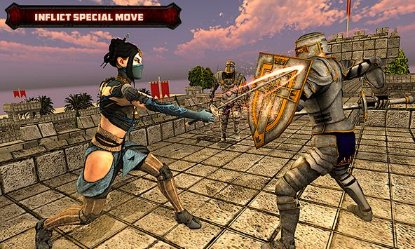 American Ninja Sword Fight with Assassin Warrior screenshot 1