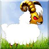 Sheep fighting online icon