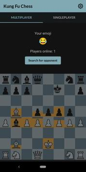 Kung fu chess - Online real-time chess w/o turns♟️ poster