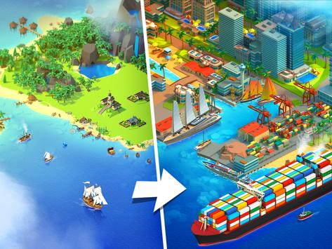 Sea Port: Ship Transport Tycoon & Business Game poster