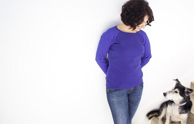 Sweatshirt Mila by Tweed and Greet