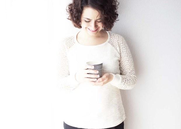 Sweater Mila mit Spitze by Tweedandgreet