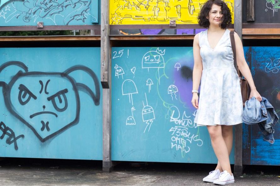 Skaterkleid Zéphyr made by Tweed & Greet