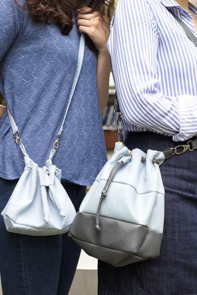 Bucket Bag by Tweed & Greet