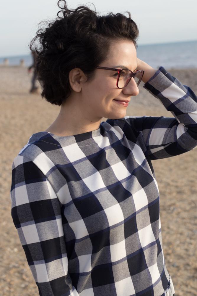 Frau Jette von Hedi näht - Tweed & Greet