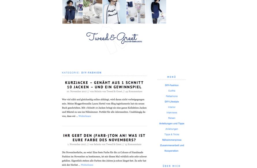 Blog Tweed & Greet