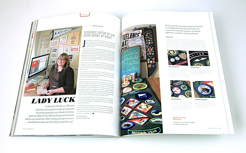 Tweed Editing Profiled in UPPERCASE Magazine