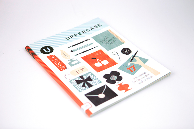 UPPERCASE Magazine No. 17 Featuring Tweed Editing