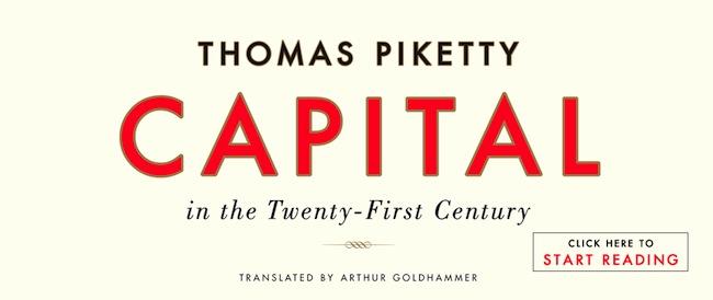 Thomas Piketty, Harvard University Press