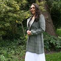 Tweed Vixen TWEED BELTED TRENCH COAT 4959