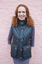 http://www.tweedvixen.co.uk/black-quilted-wax-gilet-290-p.asp