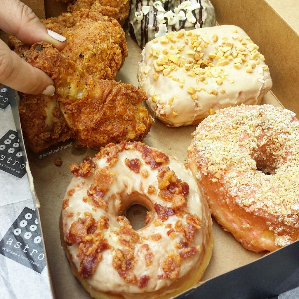 Move over chicken & waffles, there's a new combo in town. Astro Doughnuts & Fried Chicken has opened in downtown Los Angeles and it's worth the hype.