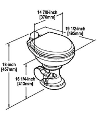 Rv Toilet Parts Amp Accessories Rv Parts Country (6
