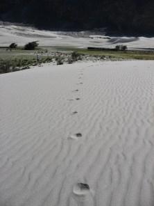 Hundar sand dunes