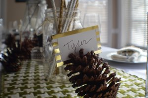 Last Minute Tablescape