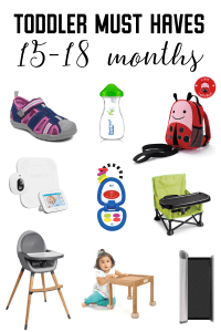 Toddler Essentials | 15-18 Months