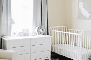 Double Nursery with Davinci Baby