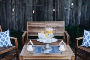 The Lazy Girl's Guide To Decorating With Garden Lights