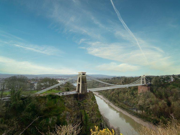 road trip England bristol bridge