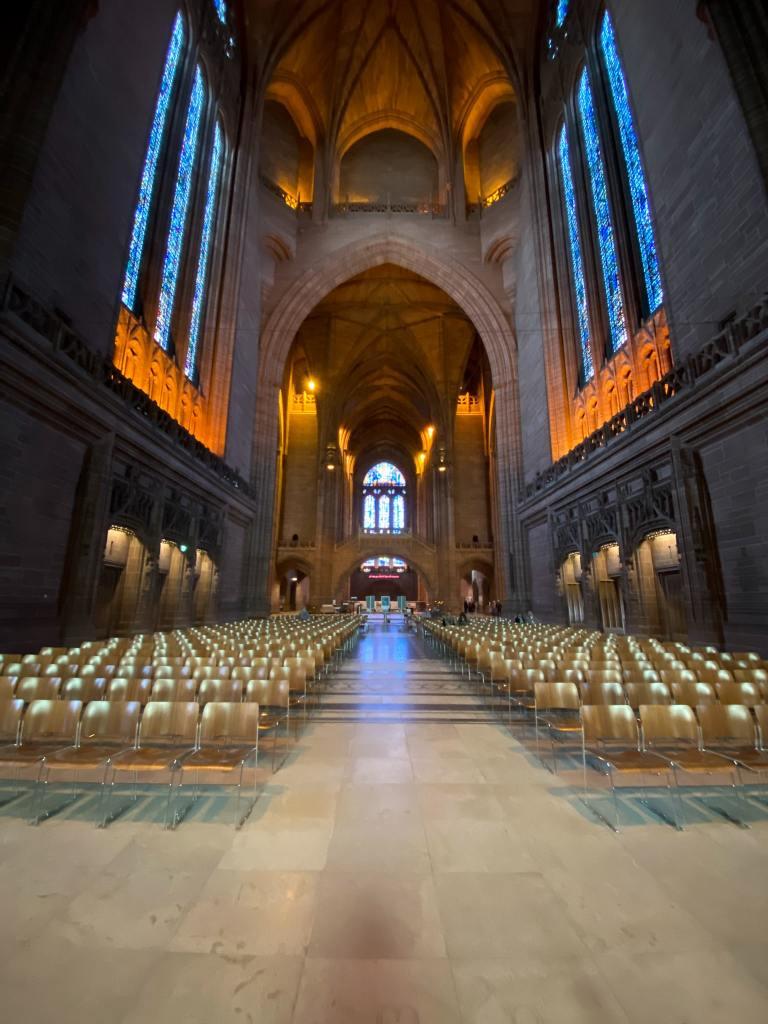 cathédrale liverpool intérieur