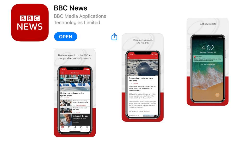 Applications indispensables à Londres - BBC News