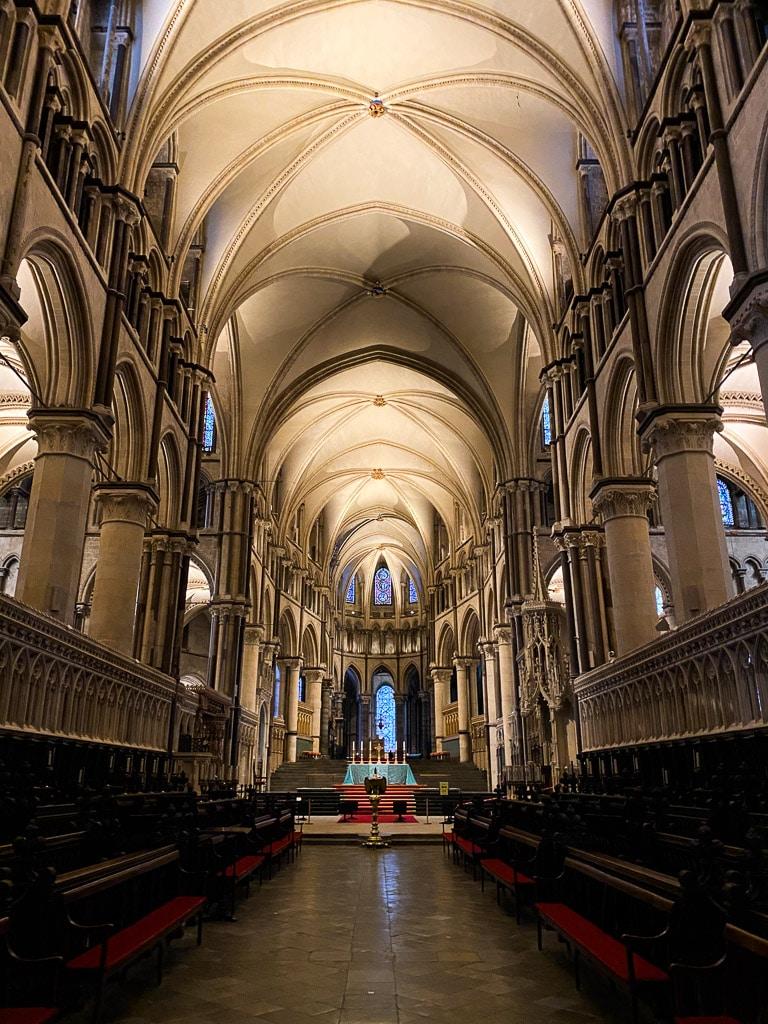Visiter le Kent : Canterbury cathédrale