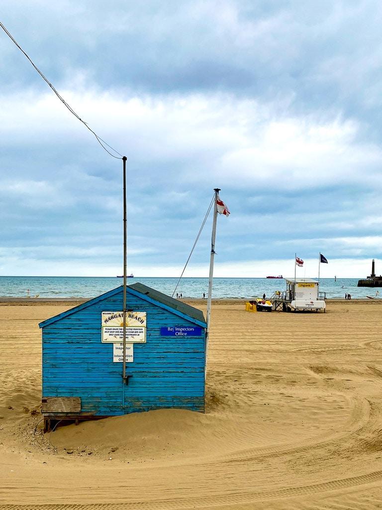 visiter le Kent : Margate Beach