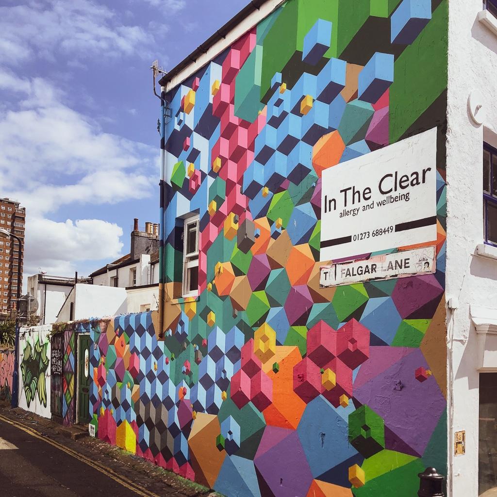 street art a brighton