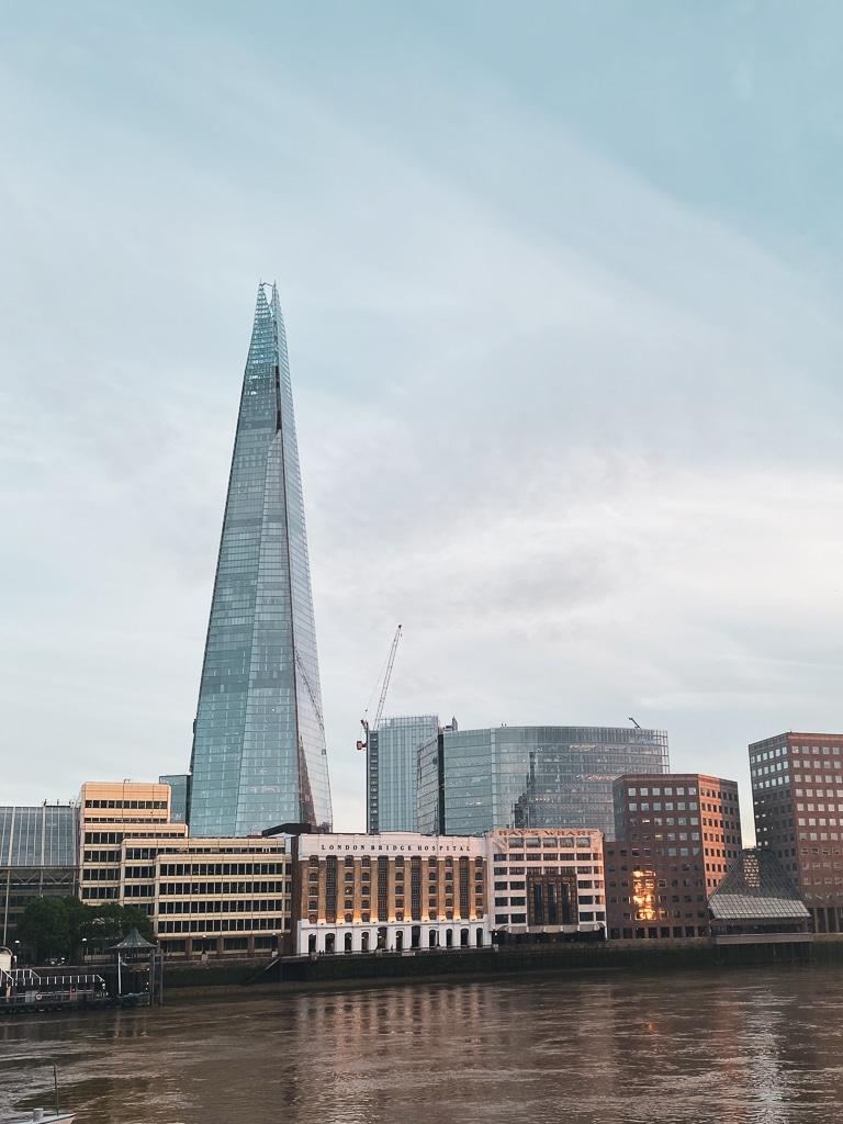 Visiter Londres en quelques jours : The Shard