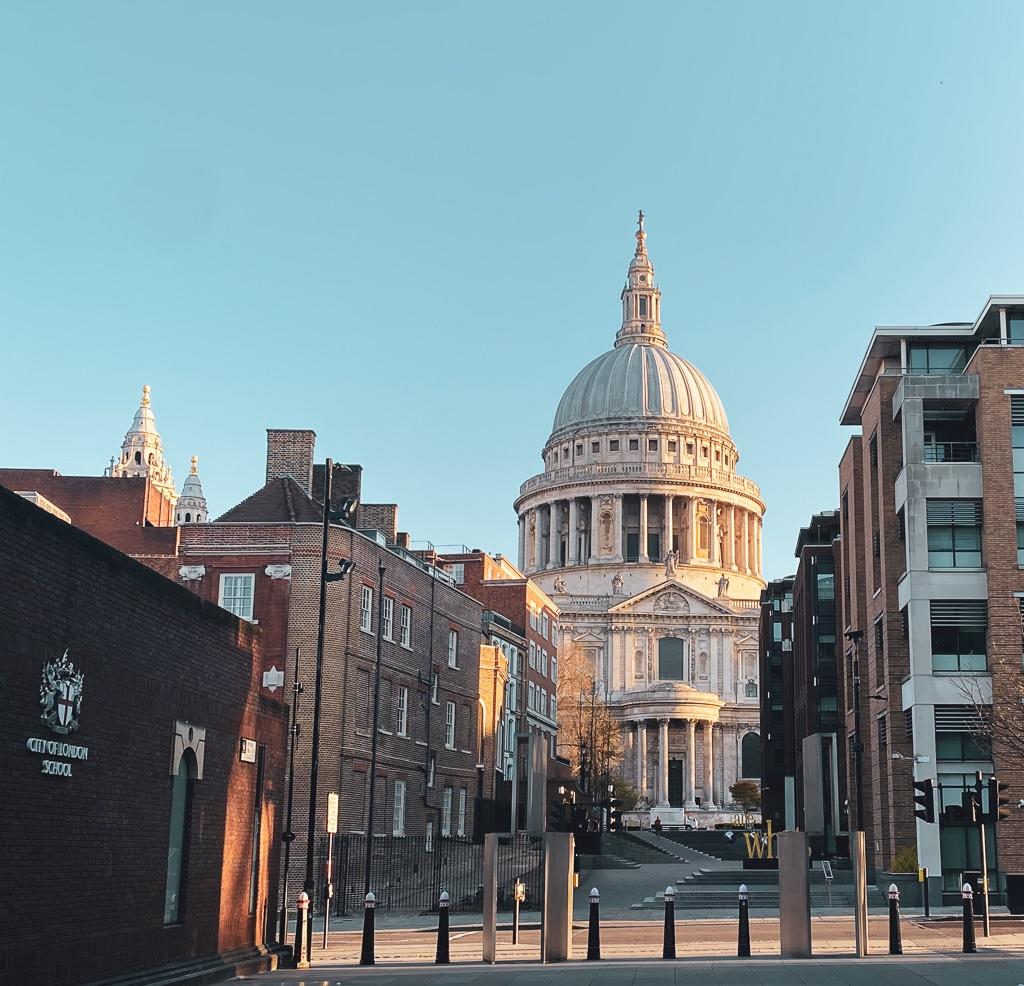 Visiter Londres : Cathédrale St Paul