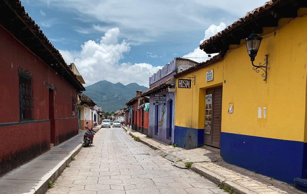San Cristobal de las casas streets
