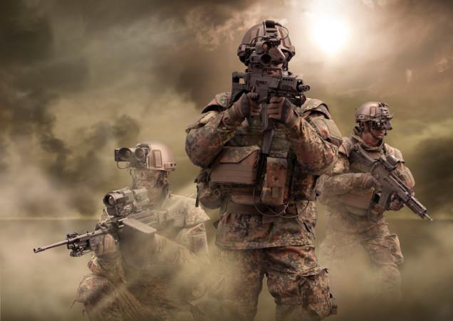 3G soldier