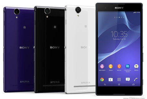 The Sony Xperia T2 Ultra