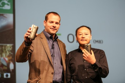 HTC unveiling the M8 | PHOTO CREDIT: CULT OF ANDROID