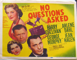 No Questions posterage