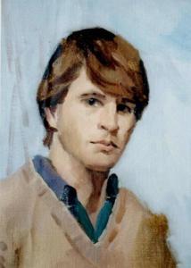 Self portrait circa 1985