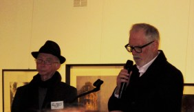 President Ray Hewitt (left) and Guest Speaker Ian Wilson (right)